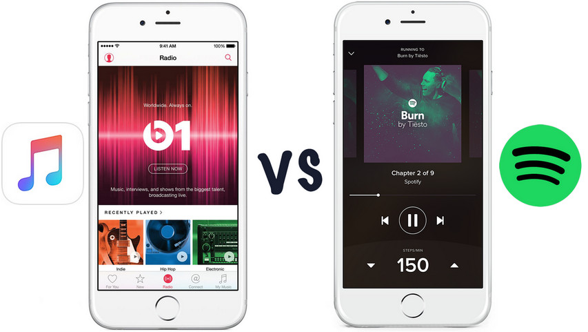 Apple Music VS Spotify: Spotify or Apple Music, that is the question