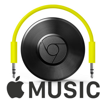 Play Apple Music on Google Chromecast