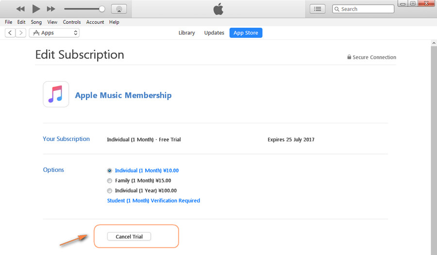 Steps to Cancel Apple Music Free Tria