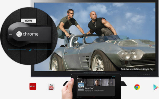 Play iTunes Movies and TV Shows with Chromecast