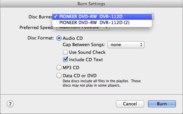 how to burn spotify music playlist to cd